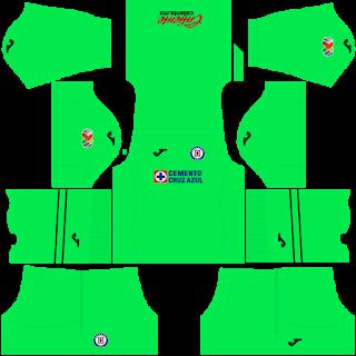 Cruz Azul Goalkeeper Home Kit