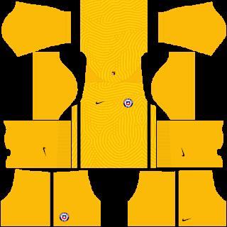 Chile Copa America 2021 Goalkeeper Home Kit