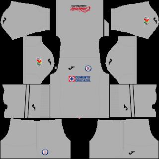 Cruz Azul GoalkeeperThird Kit
