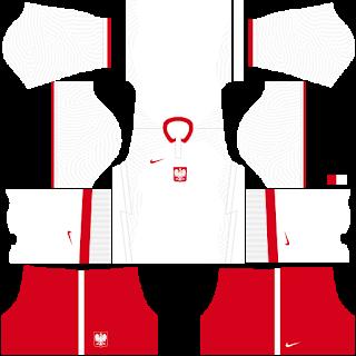 Poland Euro Cup DLS Kits 2021