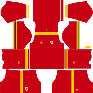 Wales Euro Cup DLS Kits 2021