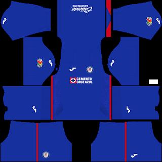 Cruz Azul DLS Kits 2021
