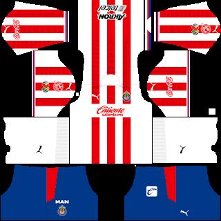 Chivas De Guadalajara DLS Kits 2021