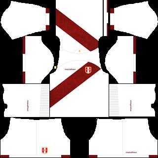 Peru Copa América DLS Kits 2021