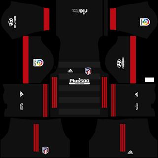 Atletico Madrid Fantasy Away Kit