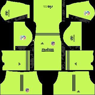 Atletico Madrid Fantasy Goalkeeper Home Kit