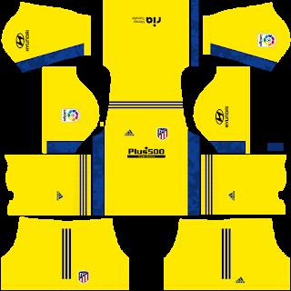Atletico Madrid Fantasy Goalkeeper Third Kit
