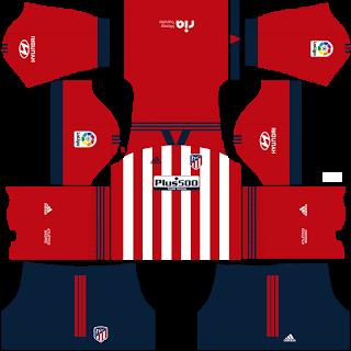 Atletico Madrid DLS Fantasy Kit