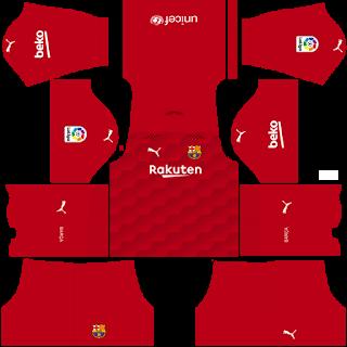 Barcelona Fantasy Goalkeeper Away Kit
