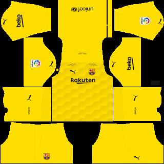 Barcelona Fantasy Goalkeeper Home Kit