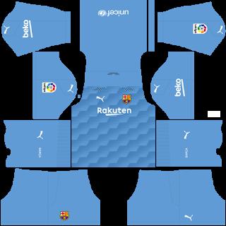 Barcelona Fantasy Goalkeeper Third Kit