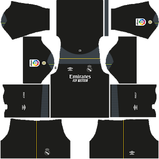Real Madrid Fantasy Goalkeeper Home Kit