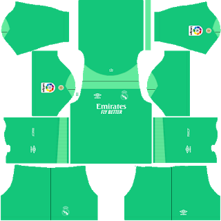 Real Madrid Fantasy Goalkeeper Third Kit