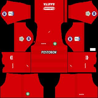 Valledupar FC Goalkeeper Home Kit