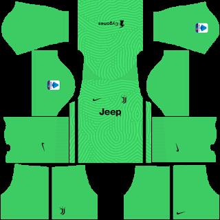 Juventus Fantasy Goalkeeper Away Kit