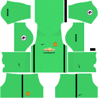 Manchester United Fantasy Goalkeeper Away Kit