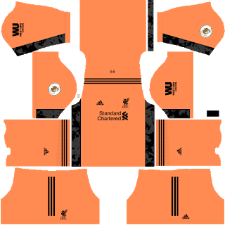 Liverpool Fantasy Goalkeeper Away Kit