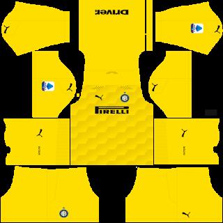 Inter Milan Fantasy Goalkeeper Away Kit