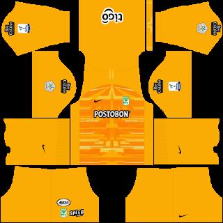 Atlético Nacional Goalkeeper Away Kit