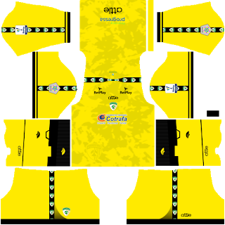 La Equidad Goalkeeper Home Kit