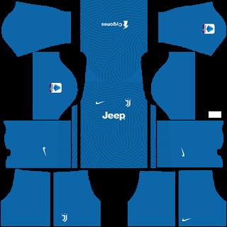 Juventus Fantasy Goalkeeper Home Kit