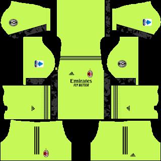 AC Milan Fantasy Goalkeeper Home Kit