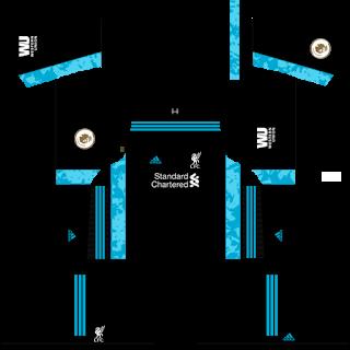 Liverpool Fantasy Goalkeeper Home Kit