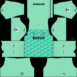 Inter Milan Fantasy Goalkeeper Home Kit