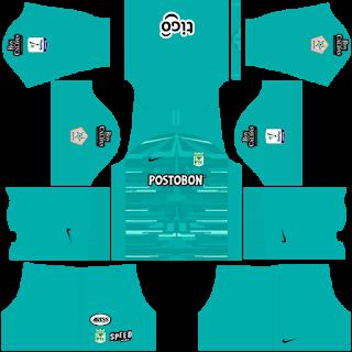 Atlético Nacional Goalkeeper Home Kit