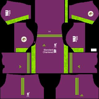 Liverpool Fantasy Goalkeeper Third Kit
