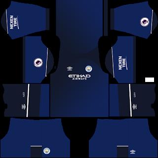Manchester City Fantasy Third Kit