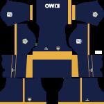 Boca Juniors de Cali DLS Kits 2021