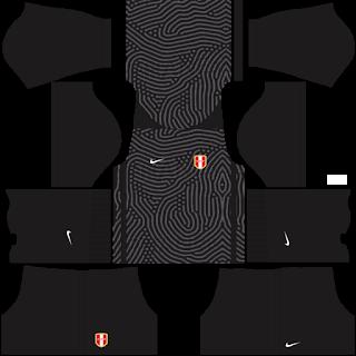 Peru Fantasy Goalkeeper Away Kit