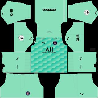 Paris Saint-Germain Fantasy Goalkeeper Away Kit