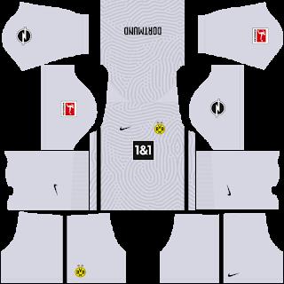 Borussia Dortmund Fantasy Goalkeeper Away Kit