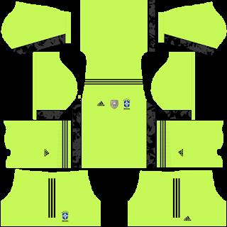 Brazil FantasyGoalkeeper Away Kit