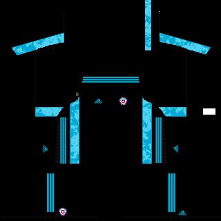 Chile Fantasy Goalkeeper Away Kit