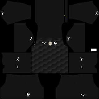 France Fantasy Goalkeeper Home Kit