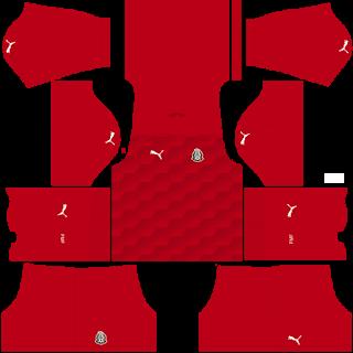 Mexico Fantasy Goalkeeper Home Kit