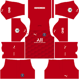 Paris Saint-Germain Fantasy Goalkeeper Home Kit