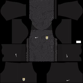 Uruguay Fantasy Goalkeeper Home Kit