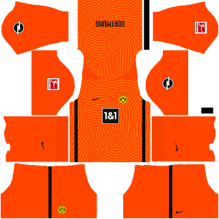Borussia Dortmund Fantasy Goalkeeper Third Kit
