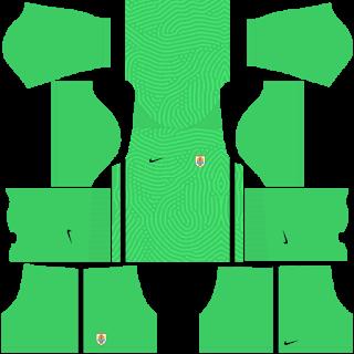 Uruguay Fantasy Goalkeeper Third Kit