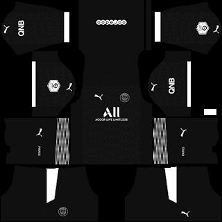 Paris Saint-Germain Fantasy Third Kit