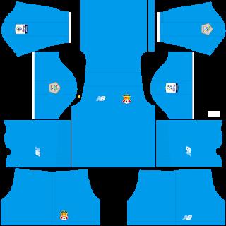Barranquilla FC Goalkeeper Home Kit