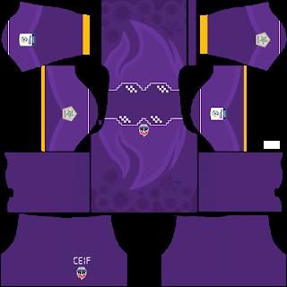 Fortaleza CEIF Goalkeeper Away Kit