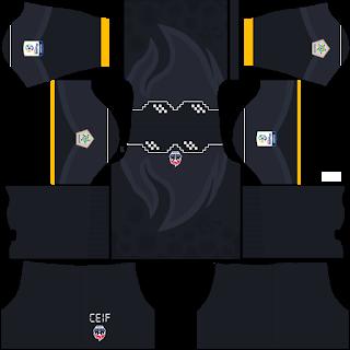 Fortaleza CEIF Goalkeeper Home Kit