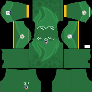 Fortaleza CEIF Goalkeeper Third Kit