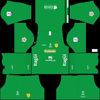Leones FC Goalkeeper Home Kit