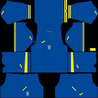 Ukraine Euro Cup 2021 Away Kit